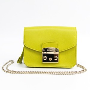 Furla Metropolis Women's Shoulder Bag Yellow