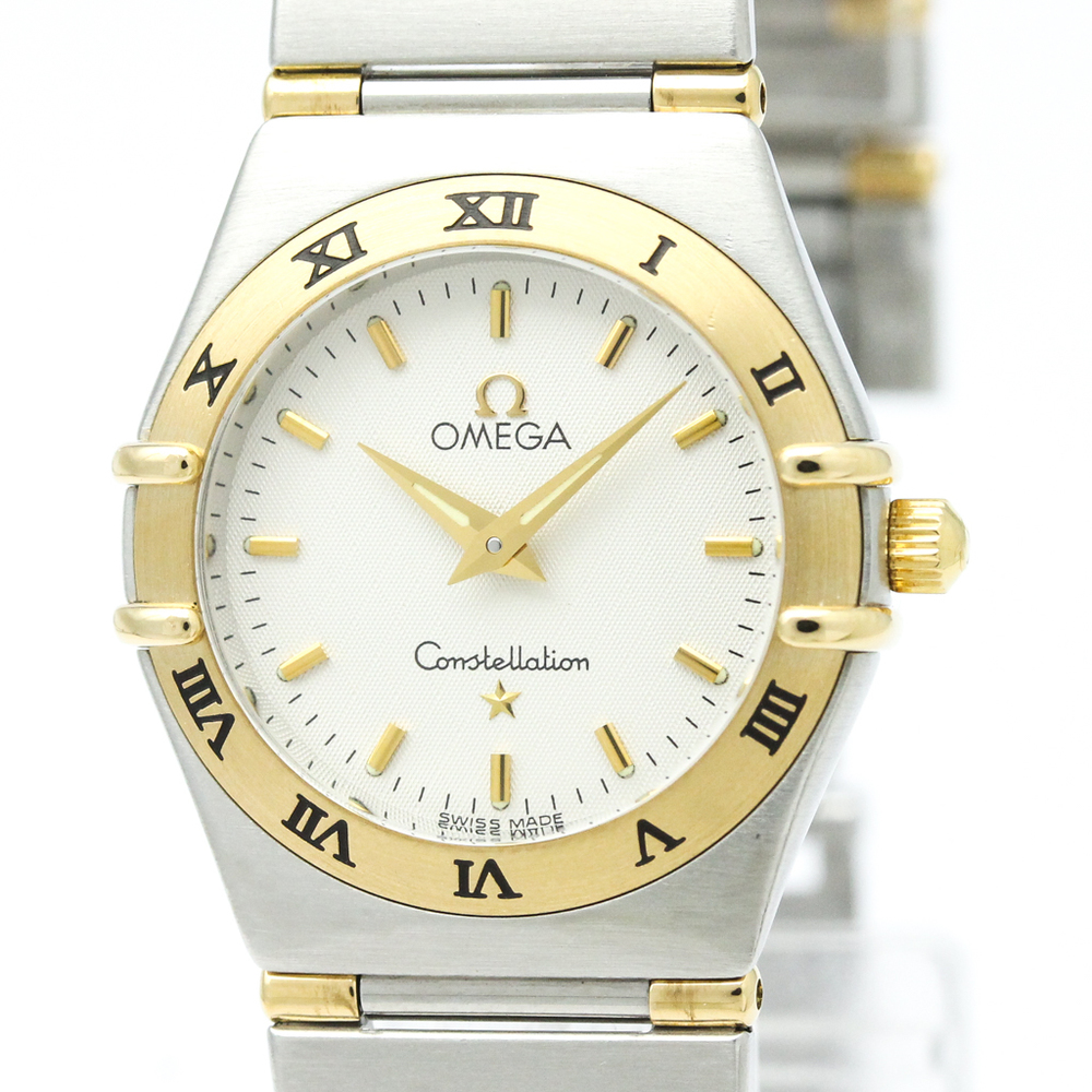 Omega Constellation Quartz Stainless Steel,Yellow Gold (18K) Women's Dress Watch 1372.30