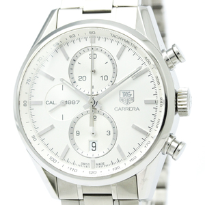 Tag Heuer Carrera Automatic Stainless Steel Sports Watch CAR2111