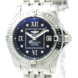 BREITLING Cockpit Lady Steel Quartz Ladies Watch A71356