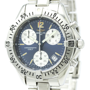 BREITLING Colt Chronograph Steel Quartz Mens Watch A53035