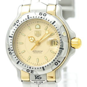Tag Heuer 6000 Series Quartz Gold Plated,Stainless Steel Women's Sports Watch WH1353