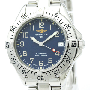 BREITLING Colt Steel Automatic Mens Watch A17035