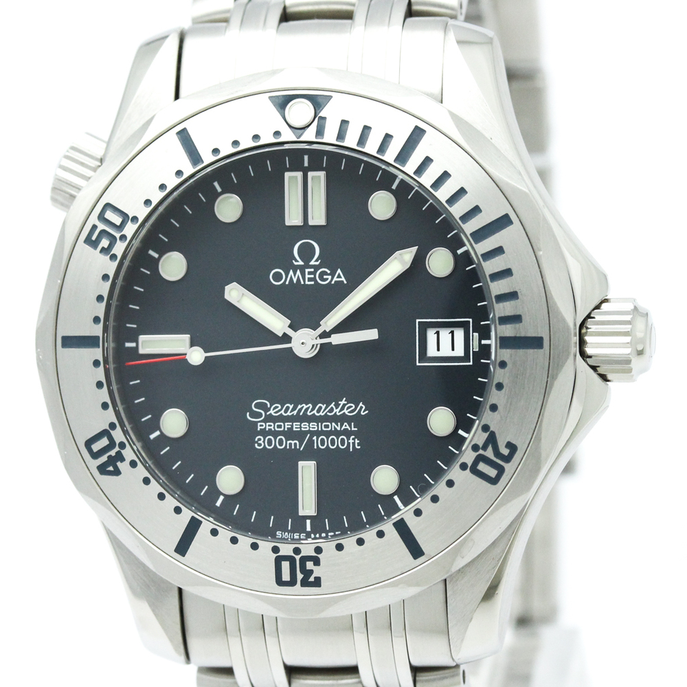 Omega Seamaster Quartz Stainless Steel Men's Sports Watch 2260.50