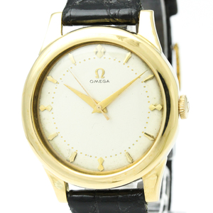 Omega Automatic Yellow Gold (18K) Men's Dress Watch 214106