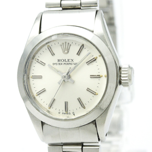 Rolex Oyster Perpetual Automatic Stainless Steel Women's Dress Watch 6718