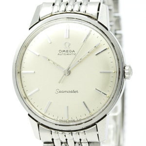 Omega Seamaster Automatic Stainless Steel Men's Dress Watch 165.002