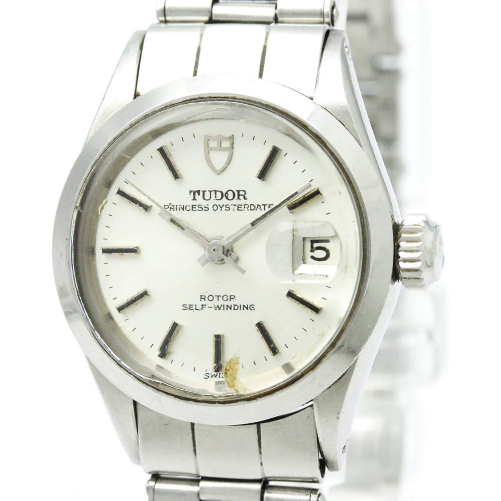 Tudor Princess Oyster Date Automatic Stainless Steel Women's Dress Watch 7616
