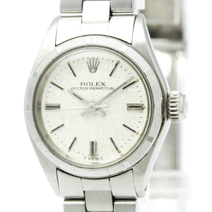 ROLEX Oyster Perpetual 6623 Steel Automatic Ladies Watch