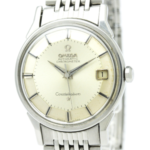 Omega Constellation Automatic Stainless Steel Men's Dress Watch 168.0056