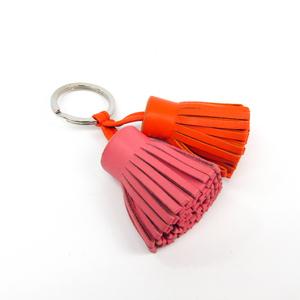エルメス カルメン キーホルダー (ピンク,オレンジ) ウノドス