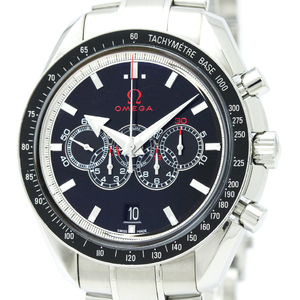 Omega Speedmaster Automatic Stainless Steel Sports Watch 321.30.44.52.01.001