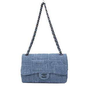 Chanel Matelasse A91102 Women's Denim Shoulder Bag