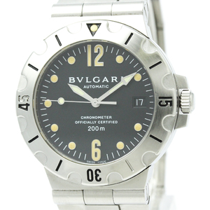 Bvlgari Diagono Automatic Stainless Steel Men's Sports Watch SD38S