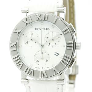 Tiffany Atlas Quartz Stainless Steel Dress Watch Z0007.32.10A91B41A