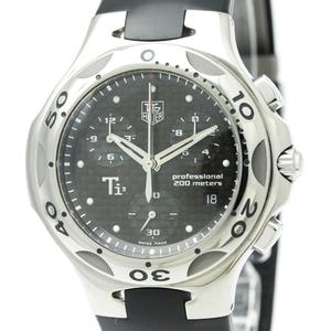 Tag Heuer Kirium Quartz Titanium Men's Sports Watch CL1181