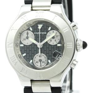 Cartier Must 21 Quartz Stainless Steel Women's Sports Watch W10198U2