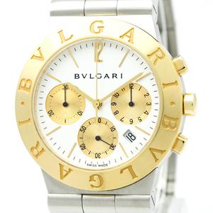 Bvlgari Diagono Quartz Stainless Steel,Yellow Gold (18K) Dress Watch CH35SG