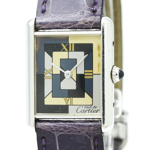 CARTIER Must Tank Art Deco LTD Edition Ladies Watch W1008095