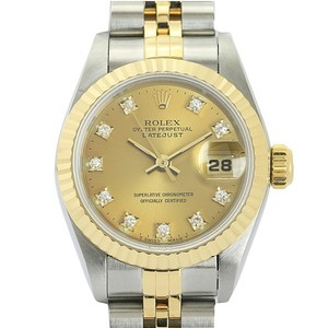 Rolex Datejust Automatic Stainless Steel,Yellow Gold (18K) Women's Dress Watch Datejust 69173G