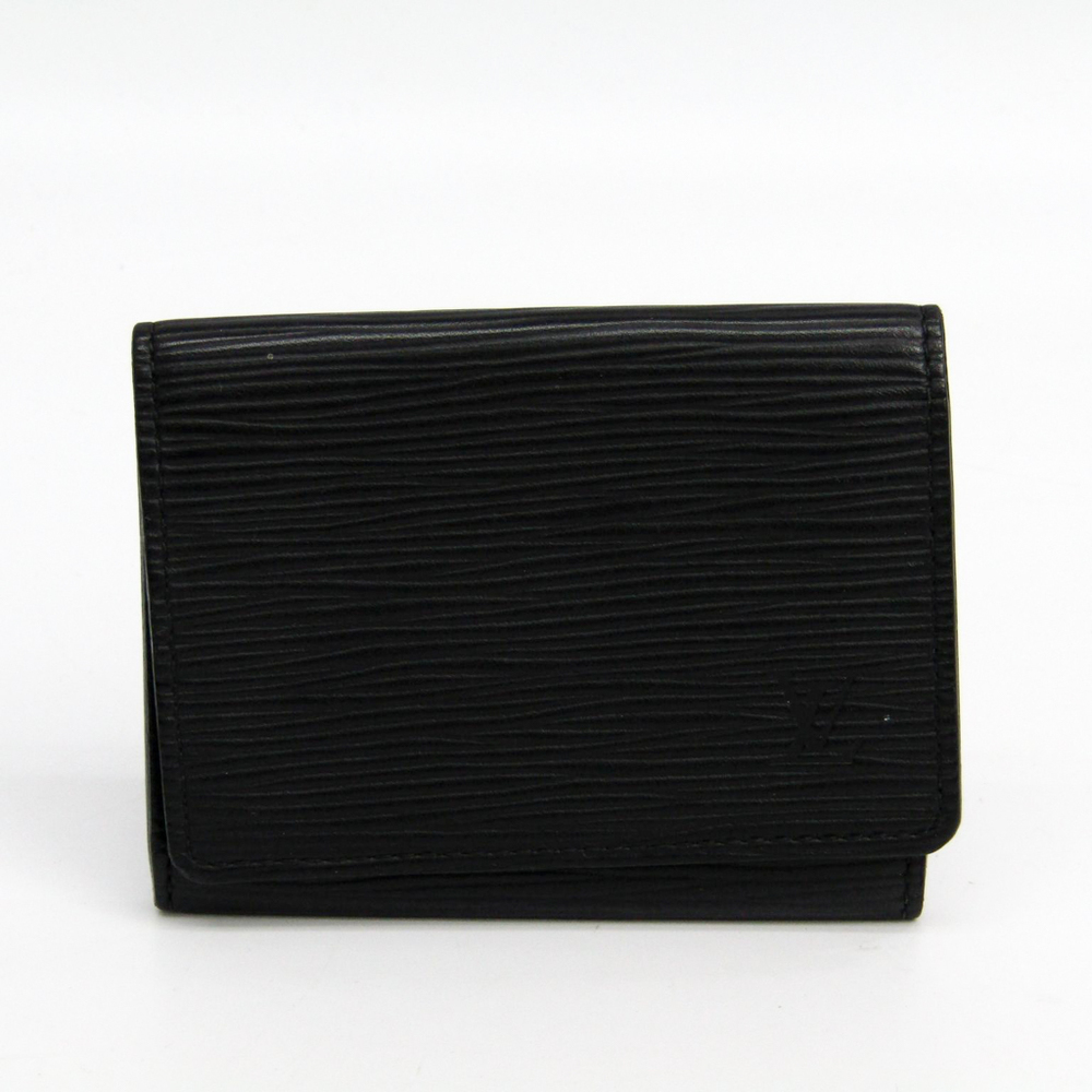 Louis Vuitton Epi Leather Card Case Black M60652 Business Card Case