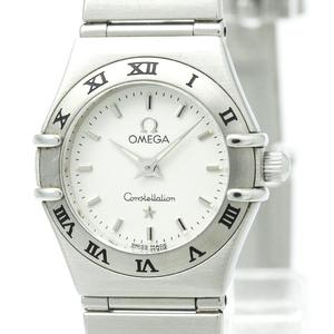 Omega Constellation Quartz Stainless Steel Dress Watch 1562.30