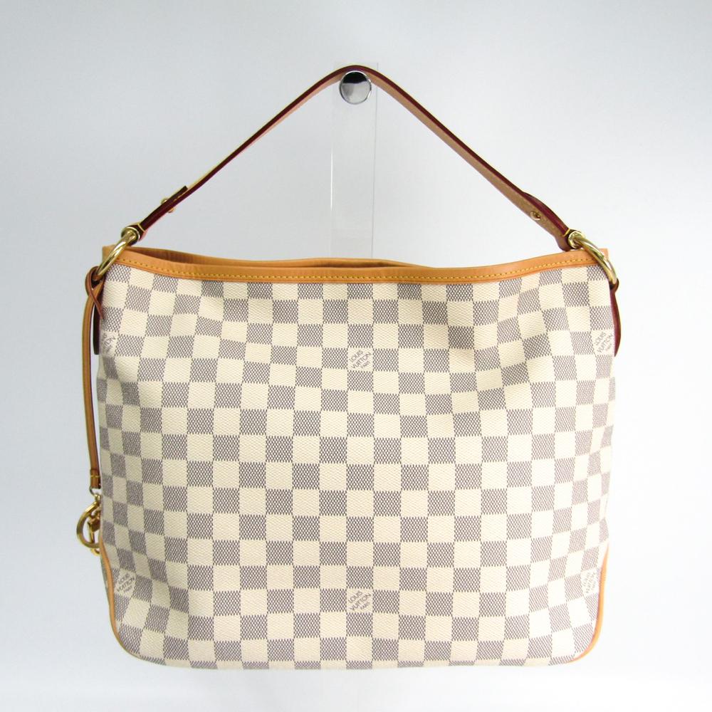 c87fc1908d86b Louis Vuitton Damier Delightful PM N41606 Shoulder Bag Damier Azur