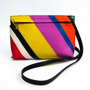 Loewe T Mini Bag Women's Leather Shoulder Bag Multi-color