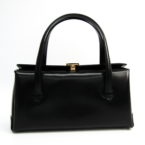 グッチ(Gucci) 000-1448 レディース レザー ハンドバッグ ブラック