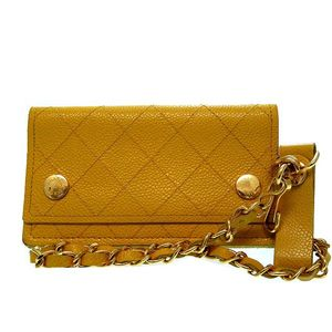 2770325 Unisex Middle Wallet (bi-fold) Yellow