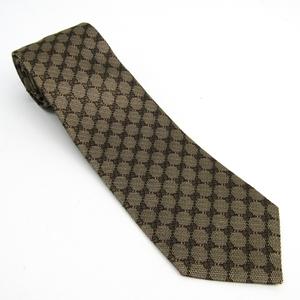 Gucci Men's Cravat Silk Beige,Brown Bee 473166