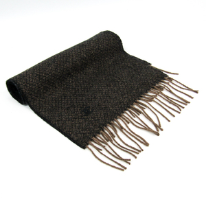 Chanel Cashmere Scarf Brown