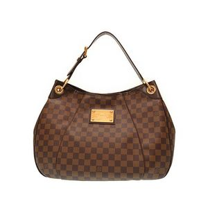 Louis Vuitton Damier Galliera PM N48212 Women's Handbag Ebene
