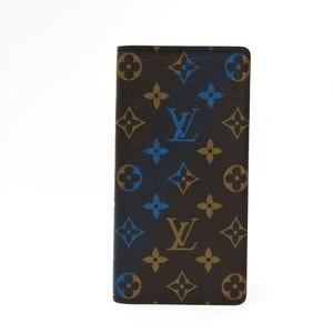 ルイ・ヴィトン(Louis Vuitton) モノグラム ポルトフォイユ・ブラザ V シグネチャー M61170 メンズ モノグラム 長財布(二つ折り) ブルー,モノグラム