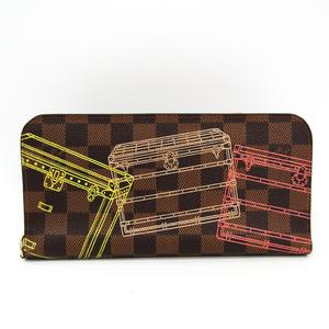 ルイ・ヴィトン(Louis Vuitton) ダミエ ポルトフォイユ・アンソリット N63025 レディース ダミエキャンバス 長財布(二つ折り) エベヌ