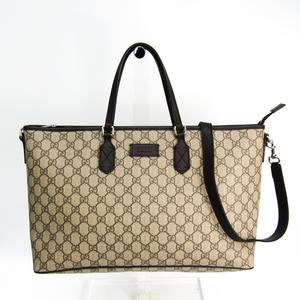a0ed830914f1 Gucci 410748 Women's GG Supreme,Leather Handbag Brown,GG Beige