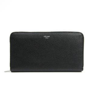 セリーヌ(Celine) レディース レザー 長財布(二つ折り) ブラック