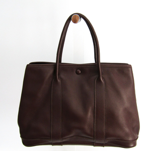 Hermes Garden Twilly TPM Swift Leather Tote Bag Brown