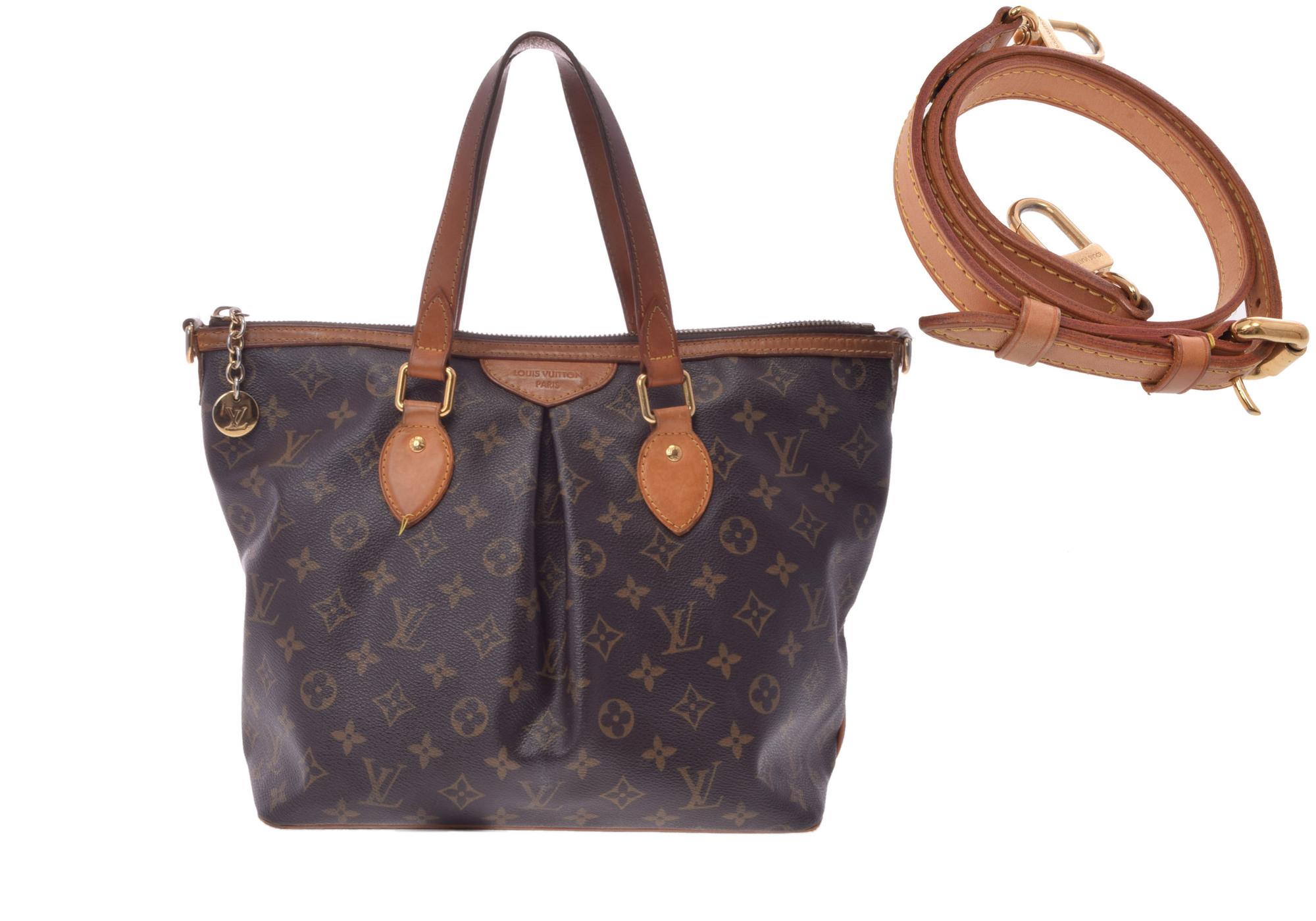a5d6347dc Authentic Louis Vuitton Monogram Palermo PM M40145 Shoulder Bag  800000067043000