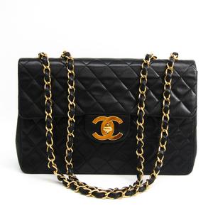 シャネル(Chanel) マトラッセ A01094 レザー ショルダーバッグ ブラック