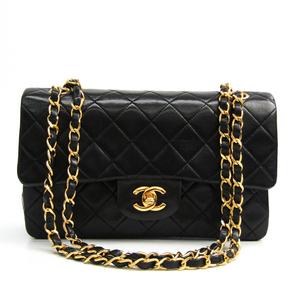 シャネル(Chanel) マトラッセ クラシックフラップスモール A01113 レザー ショルダーバッグ ブラック