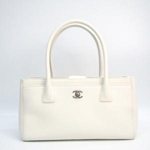 シャネル(Chanel) A67282 レディース レザー トートバッグ ホワイト