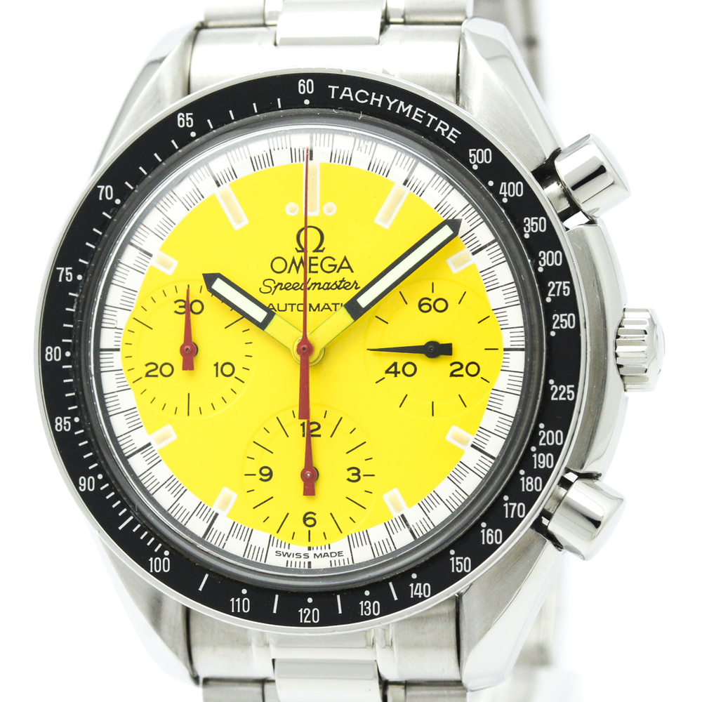 OMEGA Speedmaster Michael Schumacher Yellow Dial Watch 3510.12