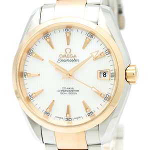 Omega Seamaster Automatic Stainless Steel,Pink Gold (18K) Men's Sports Watch 231.20.39.21.55.001