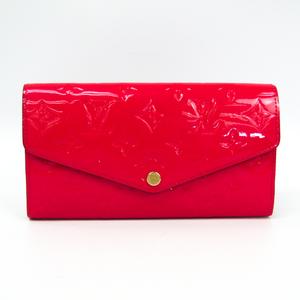 ルイ・ヴィトン(Louis Vuitton) モノグラムヴェルニ ポルトフォイユ・サラ  Portefeuille Sarah Wallet M90313 モノグラムヴェルニ 長財布(二つ折り) ホットピンク