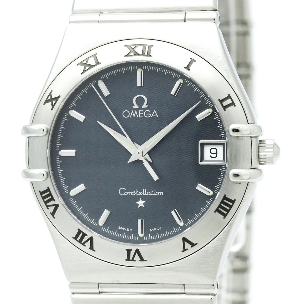 OMEGA Constellation Stainless Steel Quartz Mens Watch 1512.40