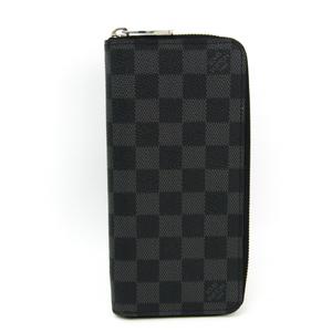 ルイ・ヴィトン(Louis Vuitton) ダミエ・グラフィット ジッピーウォレットヴェルティカル N63095 メンズ ダミエグラフィット 長財布(二つ折り) ダミエ・グラフィット