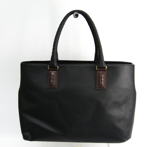 Bottega Veneta MARCOPOLO 222498 Men's PVC,Leather Tote Bag Black,Brown