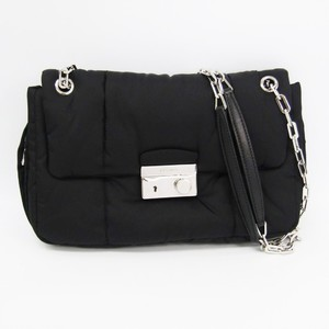 Prada BR5024 Women's Tessuto Shoulder Bag Nero