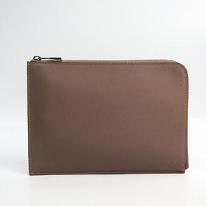 62c7ad009045 Louis Vuitton Taurillon Pochette Jour PM Women s Clutch Bag Grayish